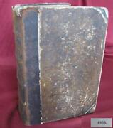 1854 Antique Greek To German Hardcover Dictionary Rare