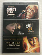 Childs Play / The Good Son / The Omen Dvd, 2008, Triple Feature, Oop Canadian