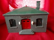 Bachmann Plasticville O Scale Police Dept Building Used