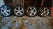 Volvo 4x 18 Inch 245/45/18 Part Number 31362839   Aluminum Alloy/w Tires.