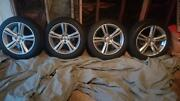 Volvo 4x 18 Inch 245/45/18 Part Number 31362839 | Aluminum Alloy/w Tires.