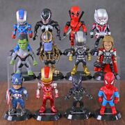 Marvel Heroes Figurines   12 Realistic Characters For Your Collection   Movie
