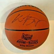 Kobe Bryant Lakers Signed Official Nba Game Basketball 2001 Finals Auto Psa Itp