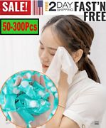 50-300x Disposable Compressed Face Towel Tablets Coin Tissue Home Salon Travel