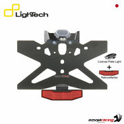 Lightech License Plate Holder B3 With Light And Reflector Yamaha R6 20062016