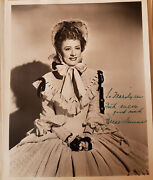 Signed Irene Dunne - Rare 8x10 Show Boat Magnificent Obsession I Remember Mama