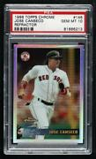 1996 Topps Chrome Refractor Jose Canseco 146 Psa 10