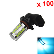 100x Ice Blue Auto 9005 Tail Lamp Signal Light 33 Emitters 5630 Smd Led P20d H26