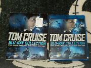 Tom Cruise Blu Ray Collection New Sealed +slipcover Top Gun Collateral 5 Films