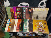 Lot Of 21 Compilation Records 50s 60s 70s Rock And Roll Jazz Randb Country Oldies