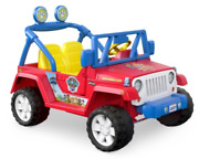 Paw Patrol Jeep 12v Battery-powered Ride On Power Wheels Parent Controlled New