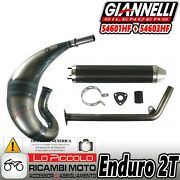 Giannelli Exhaust Complete Silencer Carbon Motorcycle Aprilia Mx 125 2004 - 2008
