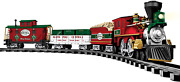 Lionel North Pole Central Battery-powered Model Train Set Ready To Play W/ Remot
