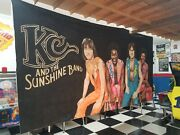 Kc And The Sunshine Band Wall Art - Huge 22' X 8' One Of A Kind Custom For Museum