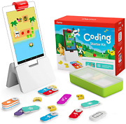 Osmo - Coding Starter Kit For Fire Tablet - 3 Educational Learning Games - Ages
