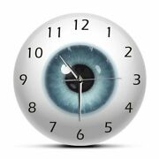 Novelty Wall Clocks For Home Decorations Eyeball Pattern Antique Style Clock New
