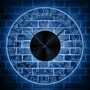 Led Edge Luminous Wall Clocks Circular Modern Home Decor New Antique Style Clock