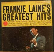 Frankie Laneand039s Greatest Hits Vinyl Lp Columbia Records Cl 1231