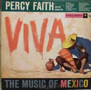 1958 Percy Faith And His Orchestra Viva Vinyl Lp 33 Columbia Records Cl 1075