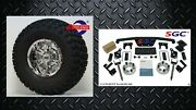 Club Car Ds Golf Cart 4 Spindle Extension Lift Kit +10 Wheels And 22 At Tires