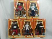 Vtg 2000 Set Of 5 N'sync Collectible Marionettes Articulated Dolls Puppets Nrfb