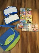 2 X Little Touch Leap Pad Learning System Plus Games And Carry Case See Details