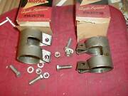 Nos Mopar 1936-54 2 Inch Exhaust Clamps Most 6 And 8 Cylinders