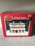 1998 Dickens Collectables Towne Series Lighted Porcelain House 🎄tested