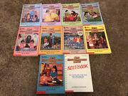 The Baby-sitters Club Lot 10 Books 5 6 7 19 21 25 27 33 40 Notebook Babysitters