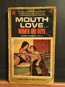 1970 Mouth Love... Woman And Boys By Garry Garvey