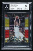 2018-19 Panini Select Concourse Tri-color Prizm Luka Doncic 25 Bgs 9 Rookie