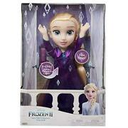 Disney Frozen 2 Elsa Musical Doll Sings Into The Unknown 14 Doll New In Box