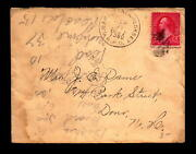 1897 C Barnstead And Hookest Rpo Cover / Some Staining / Crisp Cds - L18864