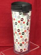 Starbucks Tous Droits Tumbler 2009 Christmas Ornaments Holiday Coffee Cup