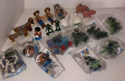 Disney Lot Toy Story 1995 Burger King Rare Buzz Woody Crown Cup Army Men Hamm