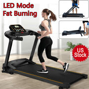 New Incline Heavy Duty Folding Electric Treadmill Weight Loss Fitness Equipment