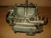 1965 65 L-79 Chevelle Holley Carburetor List 3043 Dated 521 3863150-db 327/350hp