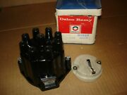 69 70 71 72 Chevrolet Nos Delco-remy D308r Distributor Cap And D-409 Rotor 2769047