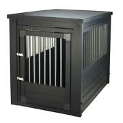 Safety Conscious Deluxe Furniture Quality Dog Crate Large 24w X 35d X 28h