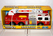 Tonka Spartans Firetruck Fire Engine Truck 328 Lights And Sounds Emergency Vehicle