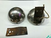 Pair Vintage Cowl Lamp Parts Lights 20's 30's Chrysler Plymouth Dodge Car Truck
