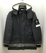 Stone Island Reflective Ripstop Chine Jacket 3 In 1