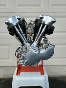 1937 Harley Davidson Knucklehead Engine Completely Restored Mint Condition