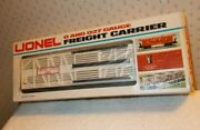Lionel 6-9408 White Circus Stock/animal Freight Carrier Circus Car