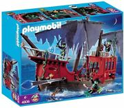 Playmobil Ghost Pirate Ship Set 4806 New Sealed Light Wear To Box