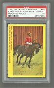 1972 O-pee-chee Royal Canadian Mounted Police 44 Mountie Psa 10 Gem Mint Pop 1