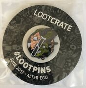 Dr Jekyll And Mr Hyde 2017 Lootcrate Lootpins Alter-ego Collectible Pin June 17