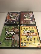 The Sims 2 Deluxe With 3 Expansion Packs Pc Seasons University Family Fun Stuff