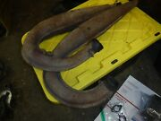 1980 Skidoo 7500 Blizzard Snowmobile Parts Both Exhaust Pipes