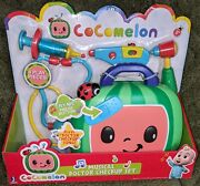 New Cocomelon Musical Doctor Checkup Set Case